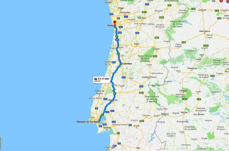 Full day tour Porto Coimbra