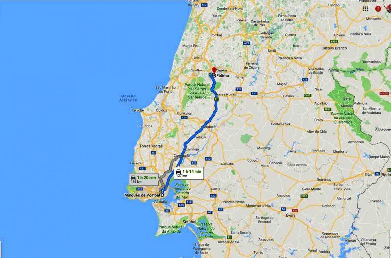Paseo Fátima – 5h