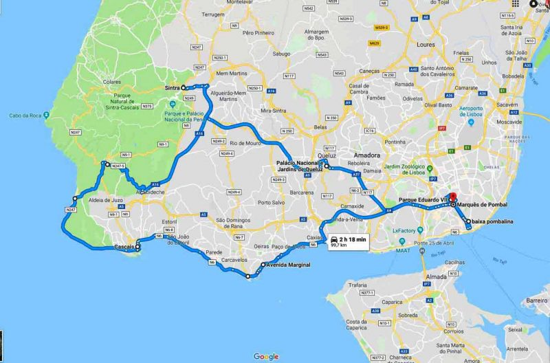 Paseo por Lisboa y Sintra - 8h