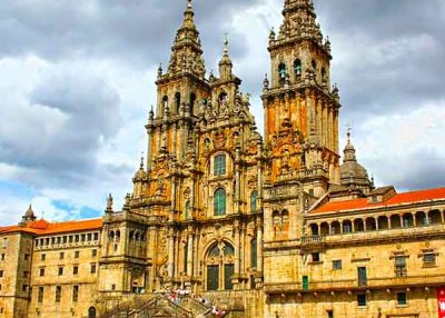 Paseo Santiago de Compostela 8h