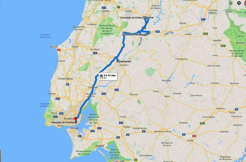 Tour de los Templarios– 8h